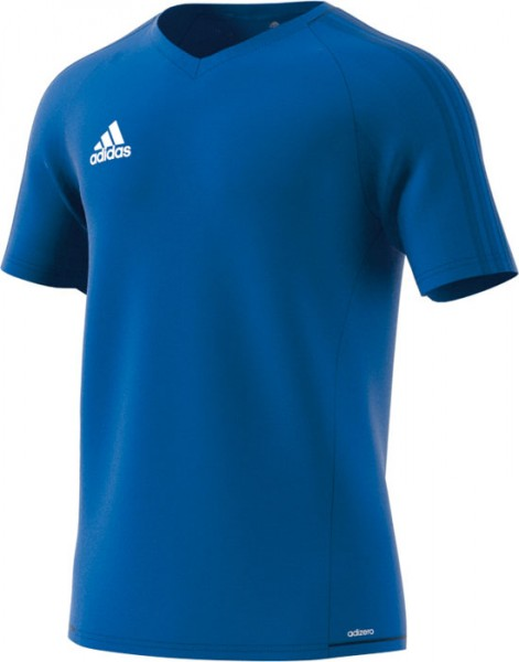 10er Satz Adidas Tiro 17 Trainingstrikot royal
